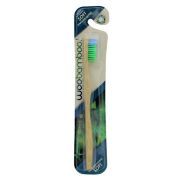 WooBamboo Toothbrush Standard Handle Soft