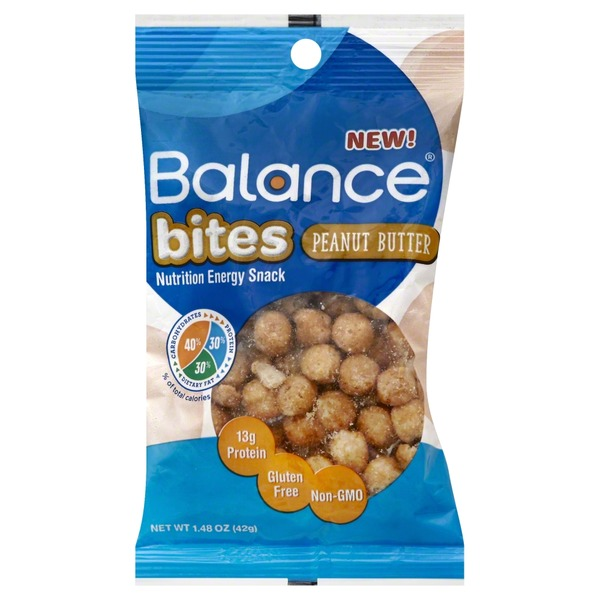 Balance Bar Nutrition Energy Snack, Peanut Butter