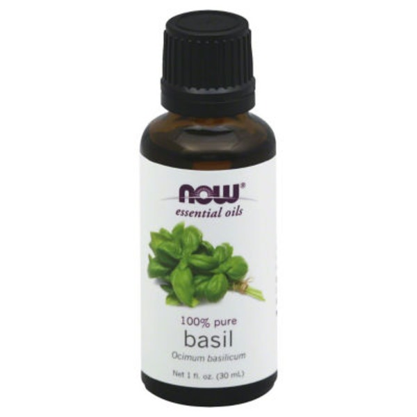 Now 100% Pure Basil Oil