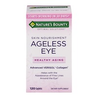 Nature's Bounty Skin Nourishment Ageless Eye Dietary Supplement - 120 CT