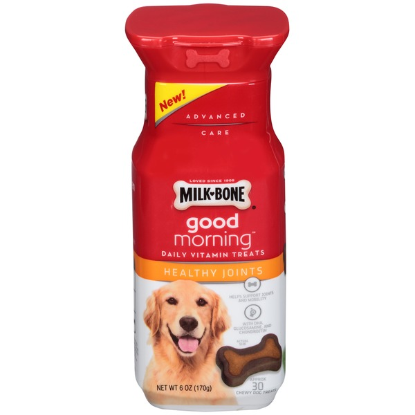 Milk-Bone Good Morning Daily Vitamin Healthy Joints Dog Treats
