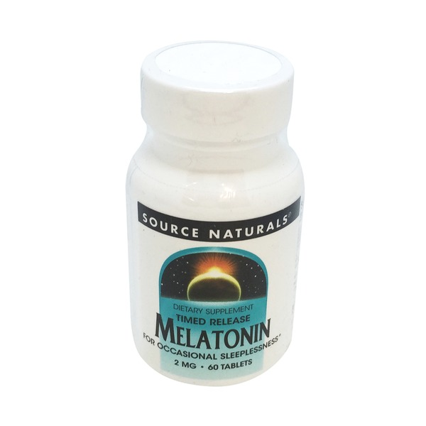 Source Naturals Melatonin Timed Release Tablets