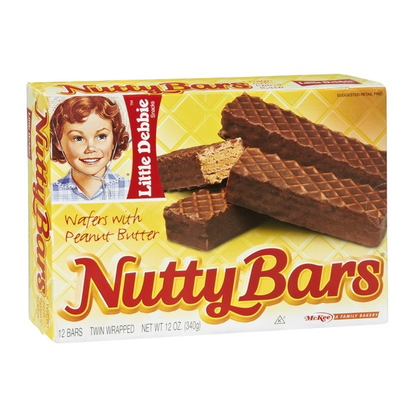 Little Debbie Nutty Bars - 12 CT