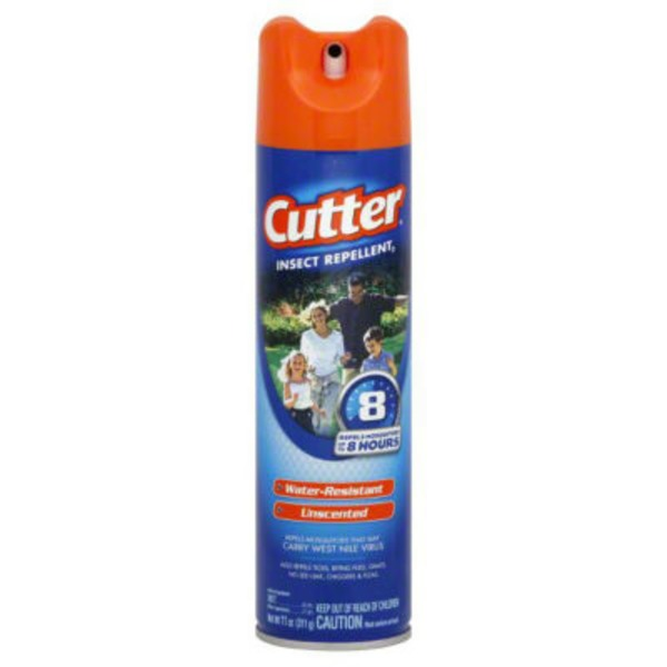 Cutter Unscented Insect Repellent Spray With Deet
