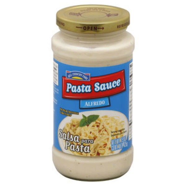 Hill Country Fare Alfredo Pasta Sauce