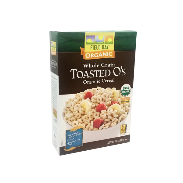 Field Day Organic Toasted O's Cereal