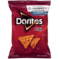 Doritos Chips Nacho Cheese Flavored Tortilla Chips