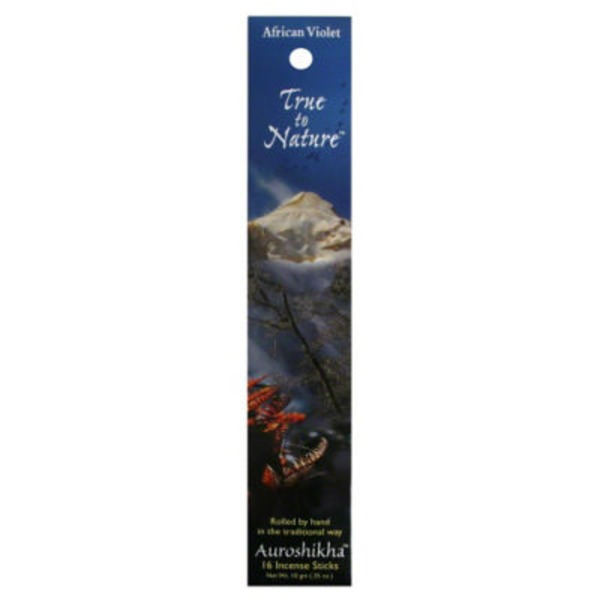 True to Nature African Violet Incense