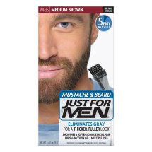 Just For Men Mustache and Beard, Medium Brown, Shade M-35