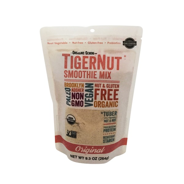 Organic Gemini Unflavored Tigernut Smoothie Mix