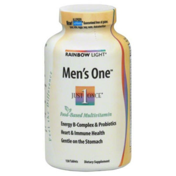 Rainbow Light Men's One Tablets - 150 CT