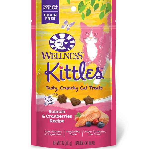 Wellness Kittles Salmon & Cranberries Recipe Cat Treats