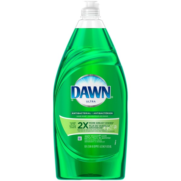 Dawn Ultra Dawn Ultra Dishwashing Liquid Antibacterial Apple Blossom 34.2 Fl Oz Dish Care