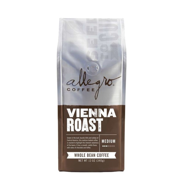Allegro Coffee Vienna Roast Whole Bean Coffee