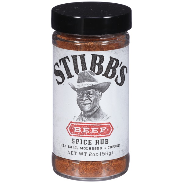 Stubb's Sea Salt, Molasses & Coffee Beef Spice Rub