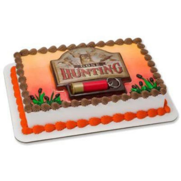 Hunting Outdoors Cake