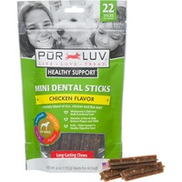 Pur Luv Mini Dental Sticks For Small/Medium Dogs