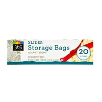 365 Quart Slider Storage Bags