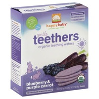 Happy Baby/Family Organic Blueberry & Purple Carrot Teething Wafers