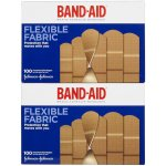 Band-Aid Flexible Fabric Bandages, Assorted, 100 ea