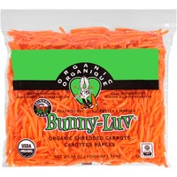 Grimmway Farms. Bunny-Luv Organic Shredded Carrots