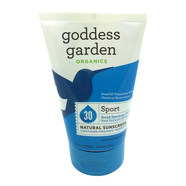 Goddess Garden Natural Sunscreen Tube Sport