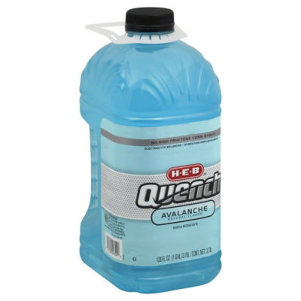 H-E-B Quench Electrolyte Balanced Avalanche Hydration Replenishment