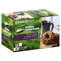 Green Mountain Coffee K-Cup Pods Brown Sugar Crumble Donut - 12