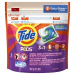 Tide PODS Liquid Laundry Detergent Pacs, Spring Meadow, 16 count