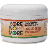 Sore No More Warm Therapy Pain Relieving Gel