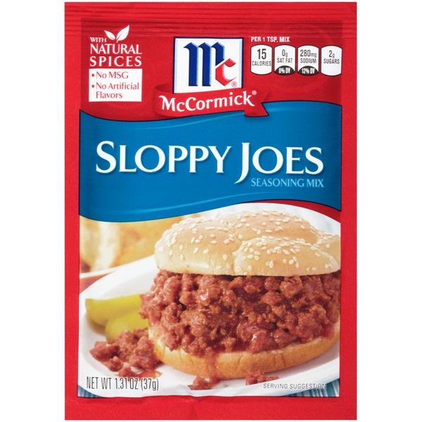 McCormick Sloppy Joes Seasoning Mix