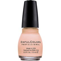 SinfulColors Professional Nail Color 300 Easy Going, 0.5 Fl Oz