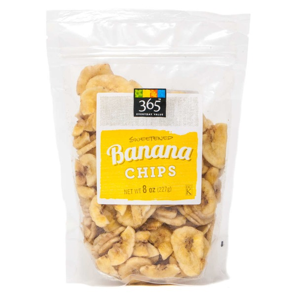 365 Sweetened Banana Chips