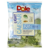 Dole Light Caesar Salad Kit