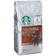 Starbucks Colombia Single-Origin Ground 100% Arabica Coffee, 12 oz