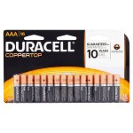 Duracell Coppertop Alkaline AAA Batteries, 16 ct