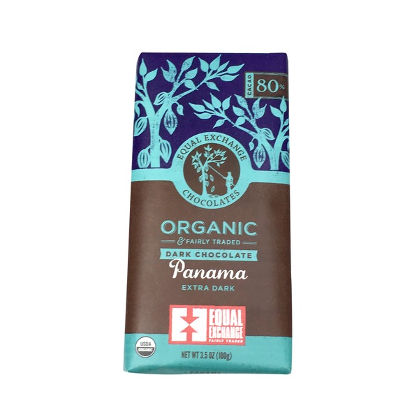 Equal Exchange Chocolates Panama Extra Dark Chocolate