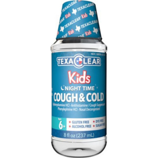 TexaClear Kids Nighttime Cough & Cold Relief