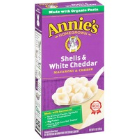 Annie's Homegrown Shells & White Cheddar Mac & Cheese Macaroni & Cheese