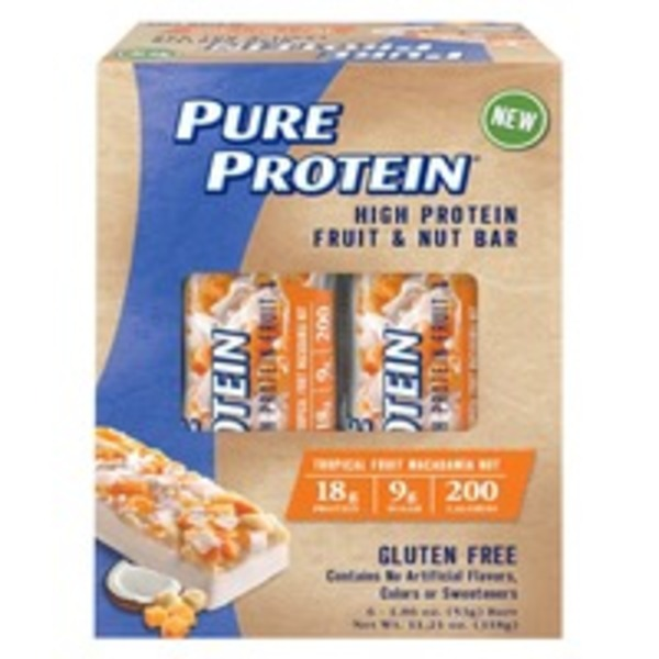 Pure Protein Gluten Free Fruit & Nut High Protein