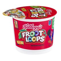 Kellogg's Froot Loops Cold Cereal-in-a-Cup, 1 Ct