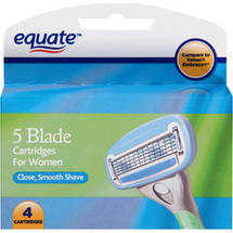 Equate 5 Blade Razor Cartridges for Women