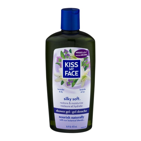 Kiss My Face Shower Gel Silky Soft Lavender & Lily