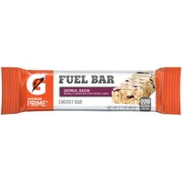 Gatorade Prime Oatmeal Raisin Fuel Bar Energy Bar