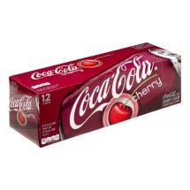 Coca-Cola Soda, Cherry, 12 Fl Oz, 12 Count