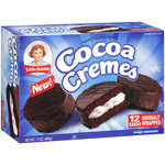 Little Debbie Snacks Cocoa Cremes Creme Filled Cakes