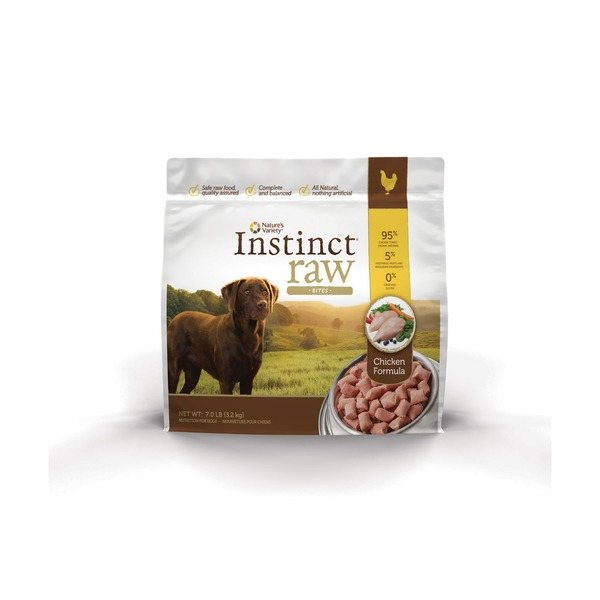 Nature's Variety Raw Bites Chicken Dog Food