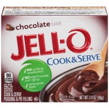 Jell-O Pudding & Pie Filling Cook & Serve Chocolate, 3.4 Oz