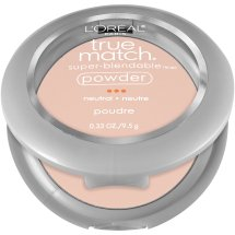 L'Oreal Paris True Match Super-Blendable Powder, N1 Soft Ivory, 0.33 oz