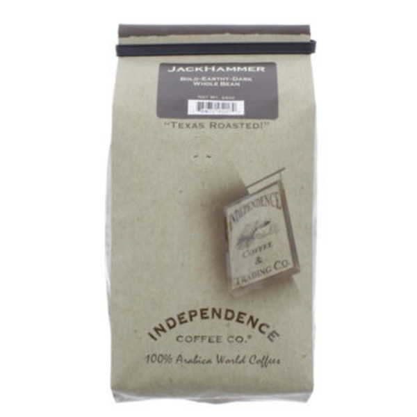 Independence Coffee Co Jackhammer Dark Roast Whole Bean Coffee